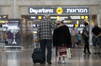 Grounded Flights Ben Gurion Airport